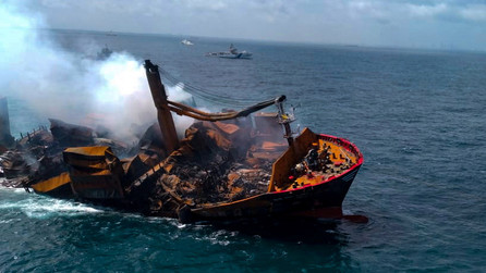 Sri Lankan environment will take 20 years to recover from chemical and oil spill