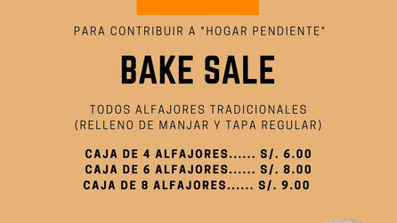 Bake Sale - Hogar Pendiente