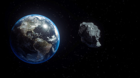 The FO32, the asteroid that passed near the Earth