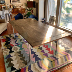 8.5 Foot Long Maple Dining Table!