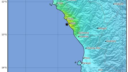 Earthquake in Lima