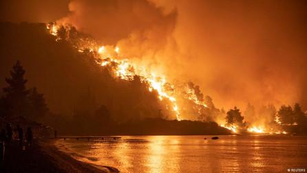 Wildfires have devastated Greece
