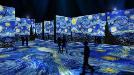 Immersive Van-Gogh experiences: Modernity in art