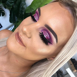 Purple Glitter Cut Crease as voted by yo