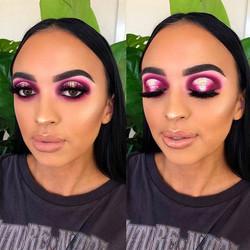 Vibrant Pink Halo using _bperfectcosmeti