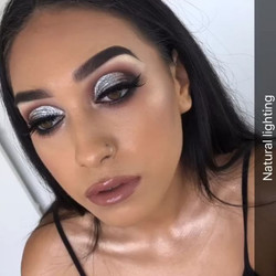 Silver Glitter Glam has so far, been this years most requested formal look💎✨💎✨ To Book your formal
