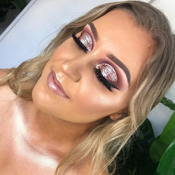 Client tutorial on this Rose Gold Glitte