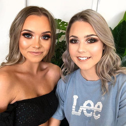 Friends who get their makeup done togeth