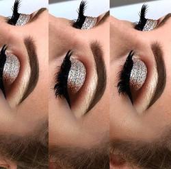 Close up on these glamorous eyes 💎✨ BRO