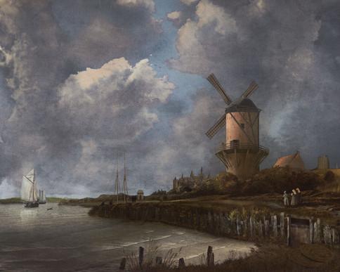 The Ruisdael Windmill