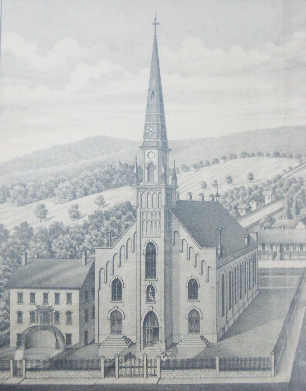 Ste_ Genevieve Church - 1882 St_ Francoi