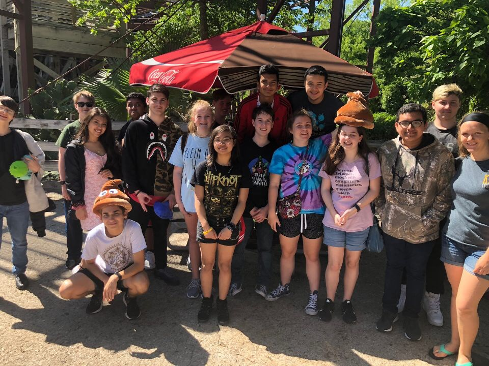 NV Trip to Fiesta Texas