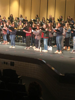 Region Choir - Treble Rehearsal
