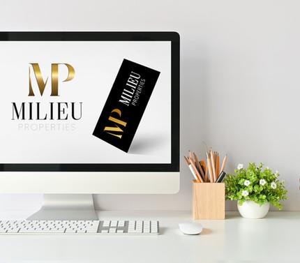 Brand designer for hire: Realty business card designer