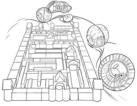 the legend of jet the gerbil coloring pages