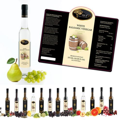Taste of Old Country Bottle Label Design