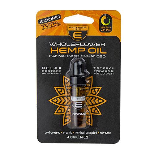( Entourage ) – WholeFlower Hemp Oil (500-1000mg CBD)