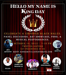 hello my name isking day 2015