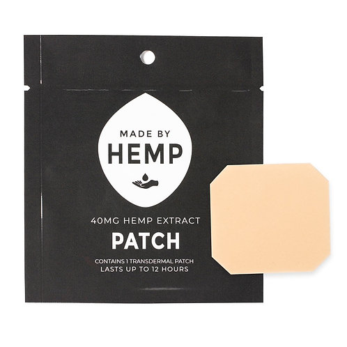 ( Made by Hemp ) – Transdermal CBD Patches 40mg