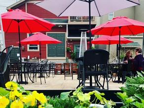 Outdoor dining options in Lewisburg