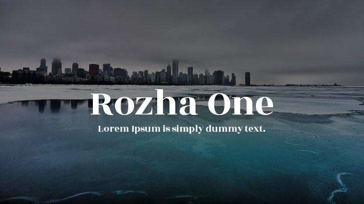 rozha-one-font-free