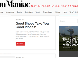 A Great Review from FashionManiac.com