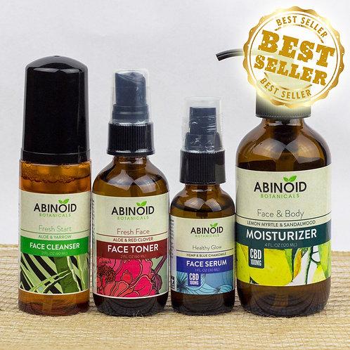 ( Abinoid Botanicals ) CBD Skin Care Kit Set