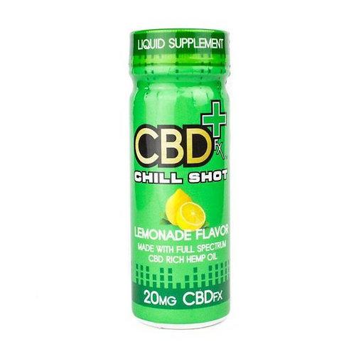 ( CBDfx ) – Chill Shot, Lemonade (20mg CBD)