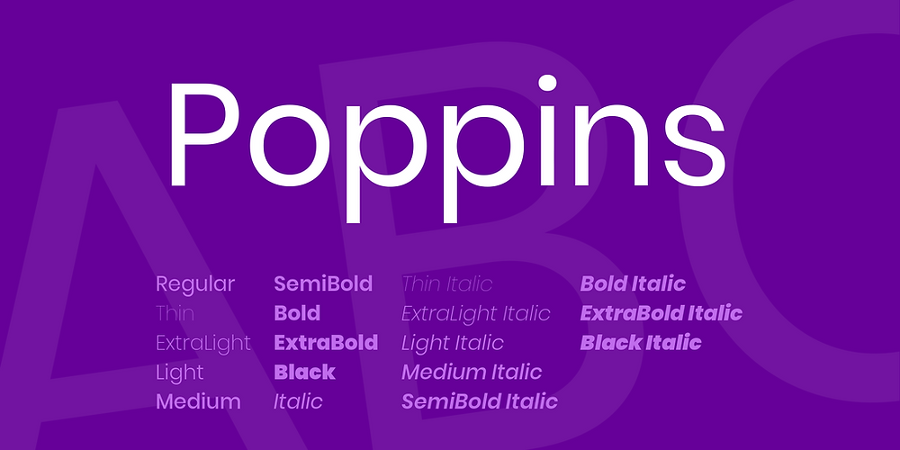 poppins-font-free