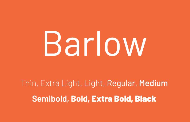 barlow-font-free