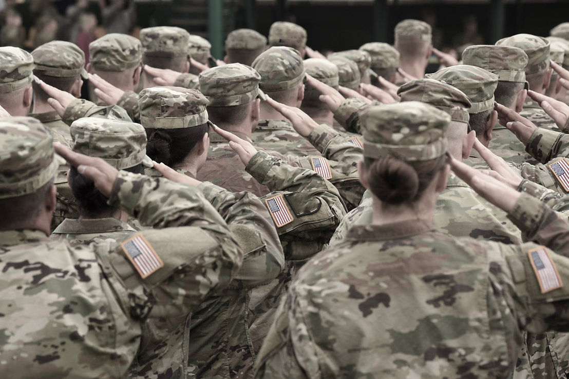 Muted Military Saluting.jpeg
