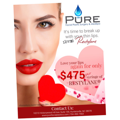 Pure Med Spa Flyer