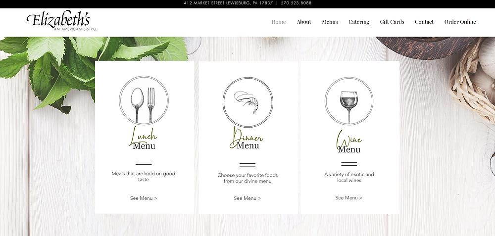 Restaurant Wix Web Design Wix Partner Crystal Coded