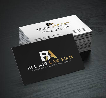 Brand designer for hire: Bel Air Law Firm