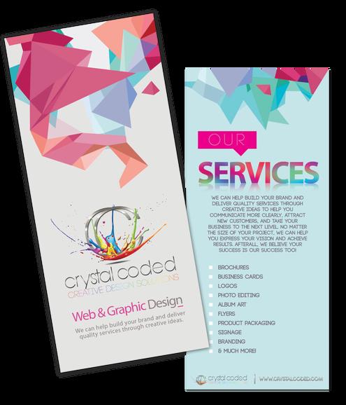 Crystal Coded Brochure Design