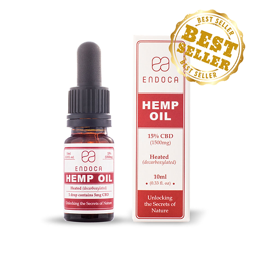 ( Endoca ) – CBD Oil Drops (300mg CBD)