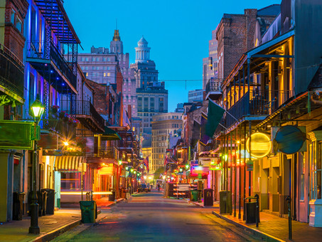 Air Charter Flights to New Orleans