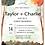 Thumbnail: Water Color  Autumn Trees -  Invitation Set of 50