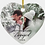 Thumbnail: Personalized Porcelain Heart Ornament