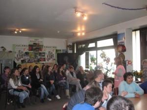 """Prezentacija projekta """"Klubovi za decu i mlade"""" studentima Fakulteta za specijalnu edukaciju i rehab"""