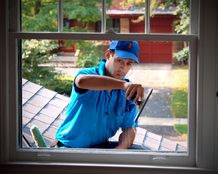window cleaning pleasant ridge