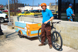 Window Cleaners Bike Trailer Detroit