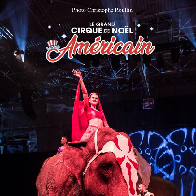 "Circus Renz ""American circus""  Show tack for elephants. Photo is taken in Paris."