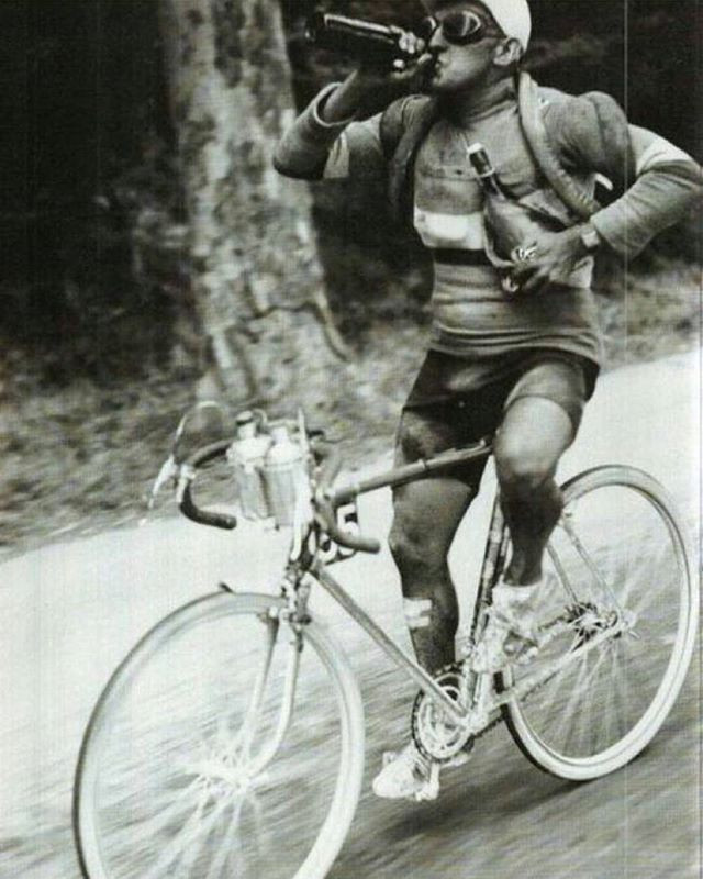 Old school cycling 1950's