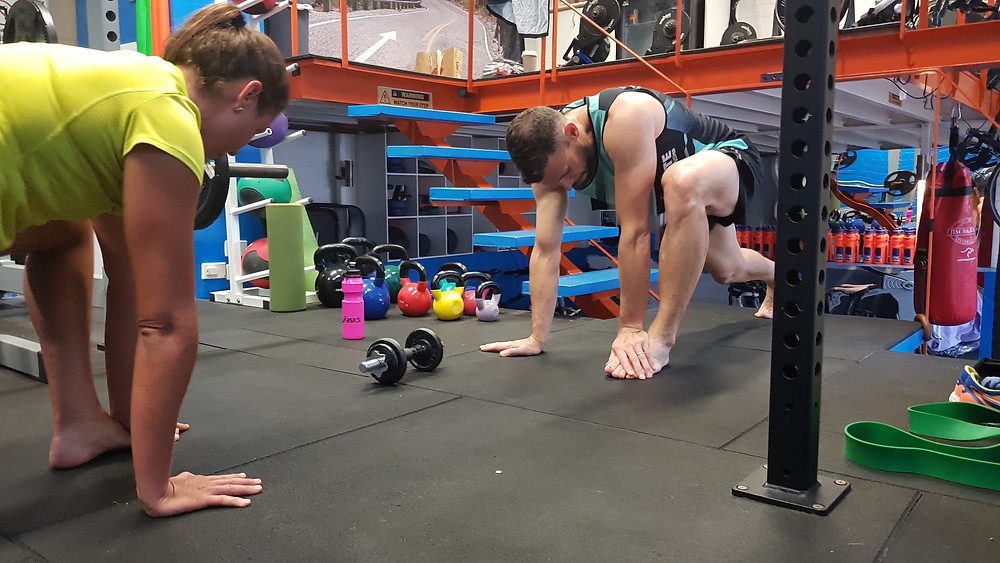 Stretch & mobility in Seac