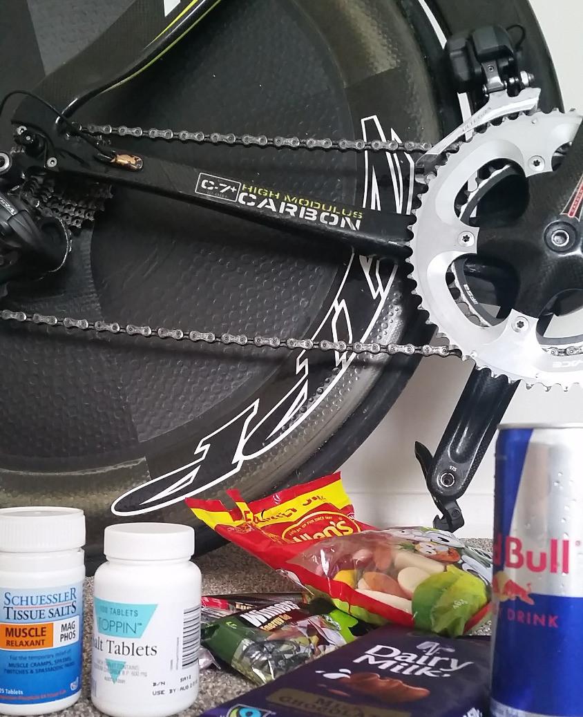 get ready to race triathlon lollies chocolate