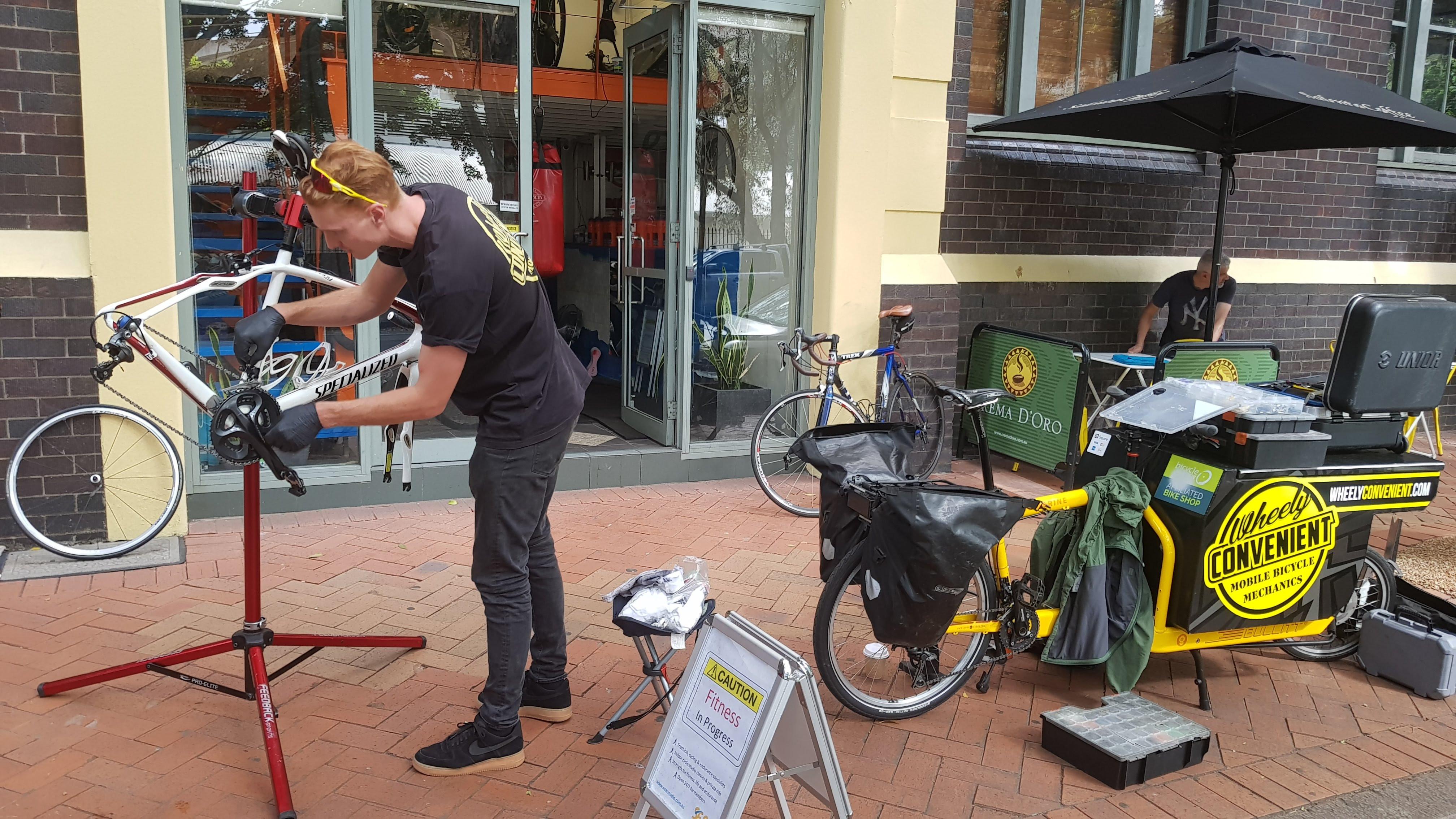 Wheely Convenient Basic Bike Service