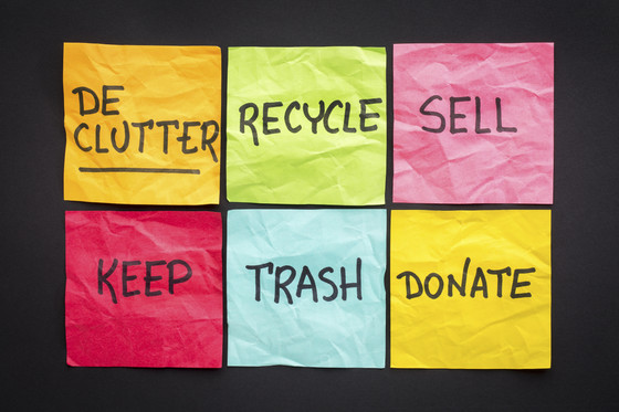 Dealing with Household Clutter