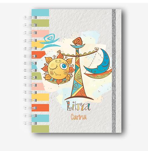 Combo digital Cadernos Signos Cute A5