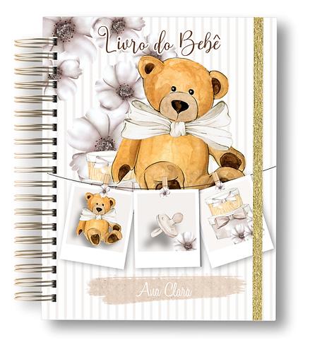 Livro do Bebê Urso Clean